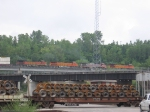 BNSF 4587